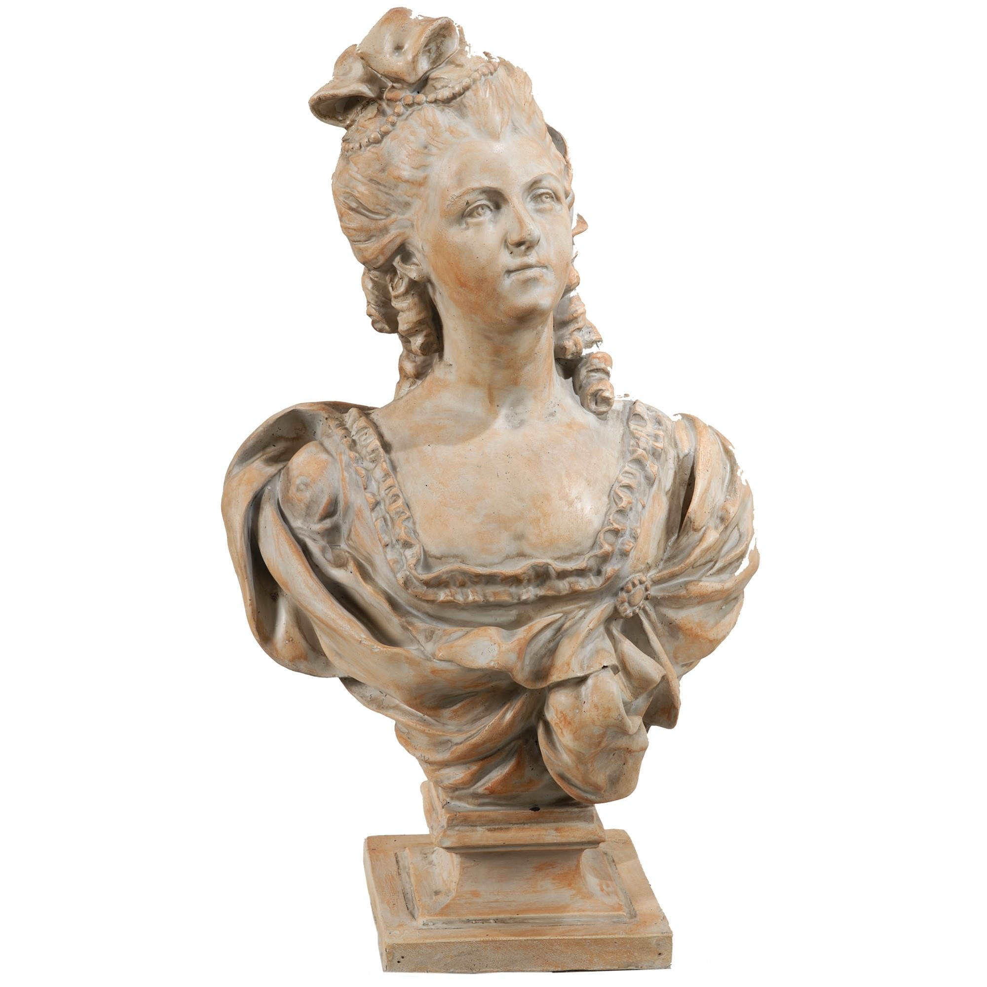 Large Victorian Bust Statue