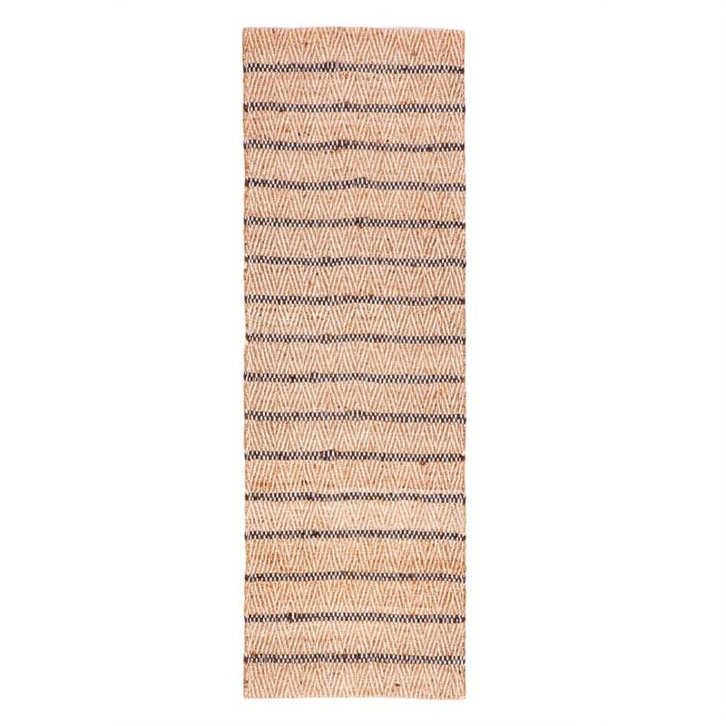 Aster Hand Woven 75x360cm Cotton and Jute Runner Rug