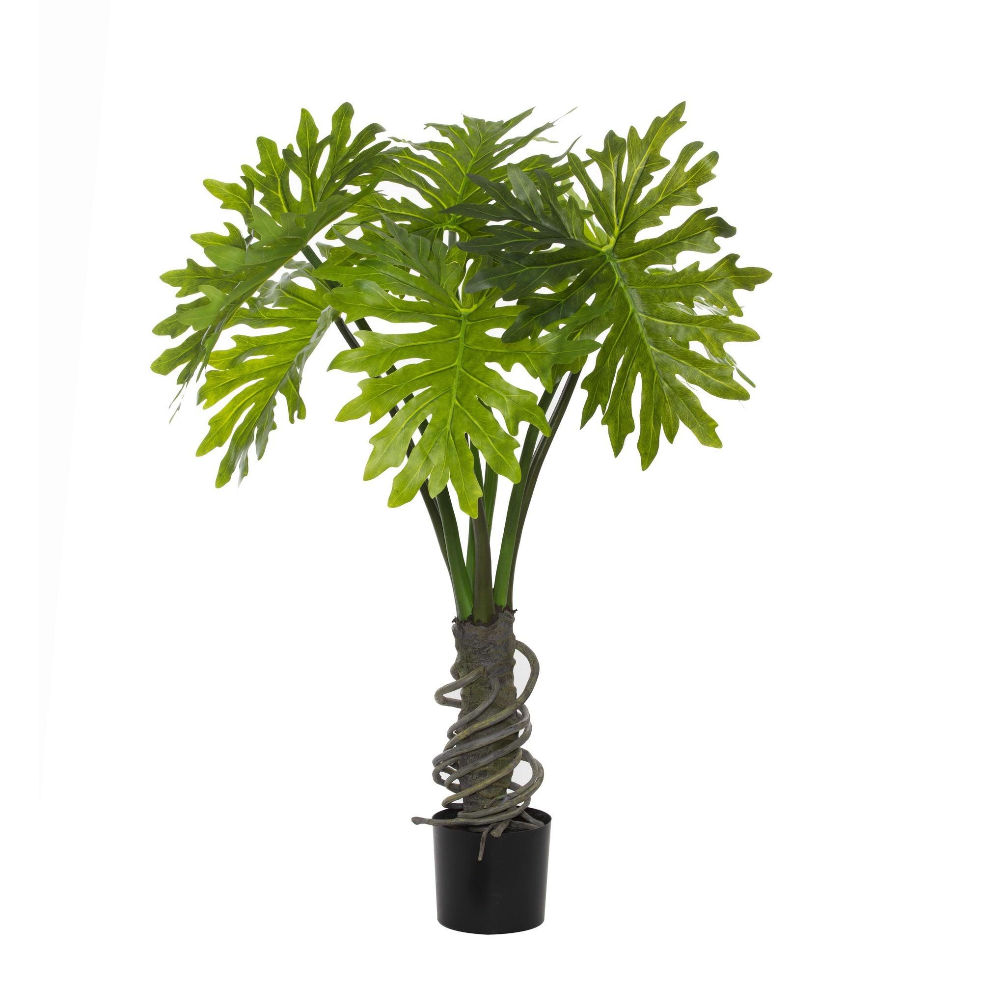 Potted Artificial Monstera Deliciosa Plant, 120cm