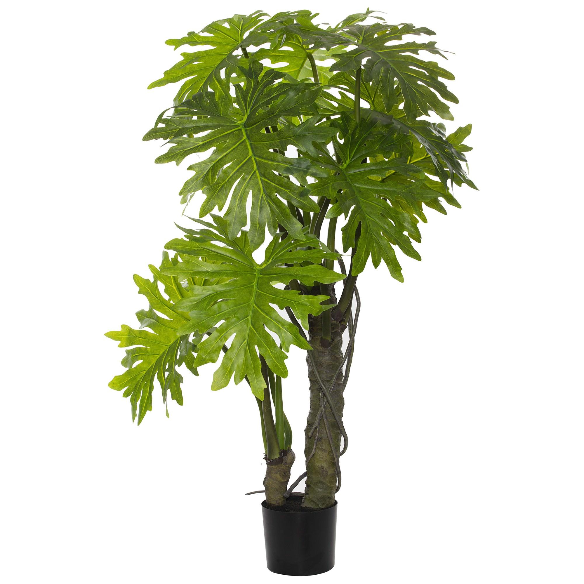Potted Artificial Monstera Deliciosa Plant, 150cm