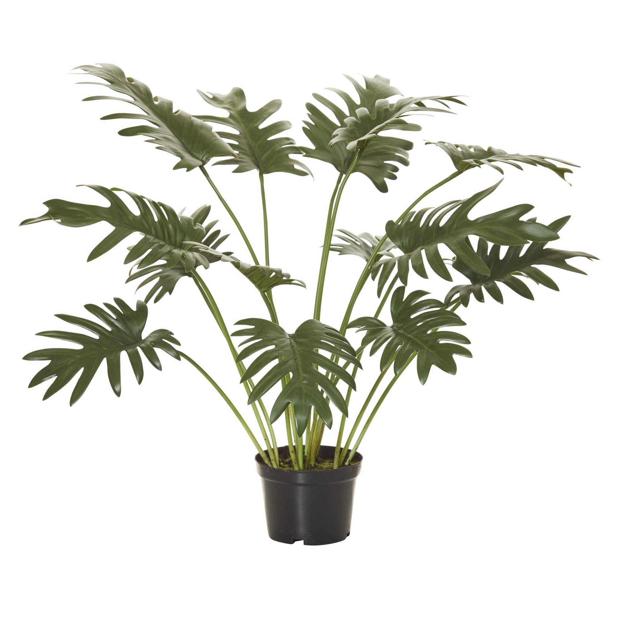 Potted Artificial Monstera Deliciosa Plant, 58cm
