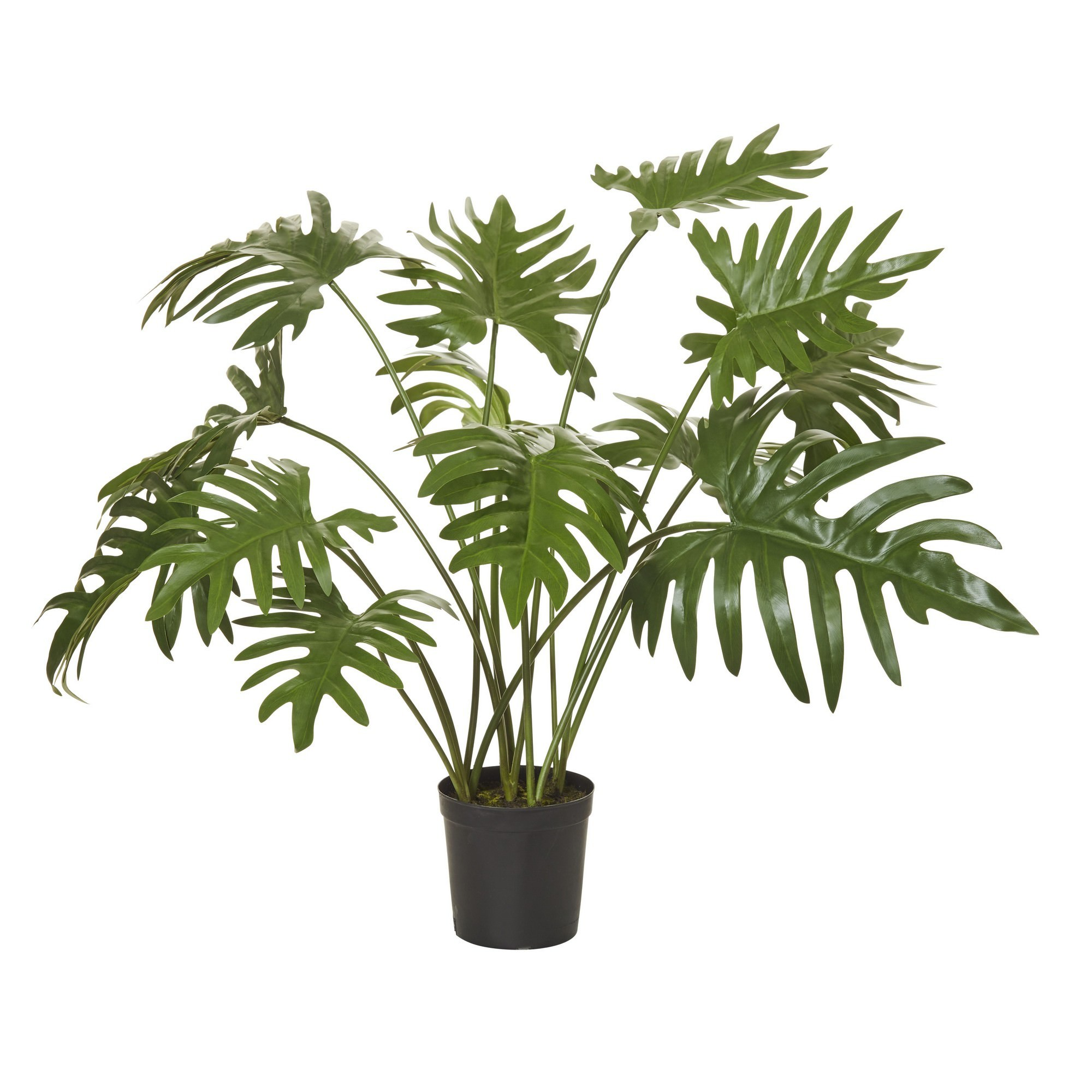 Potted Artificial Monstera Deliciosa Plant, 81cm