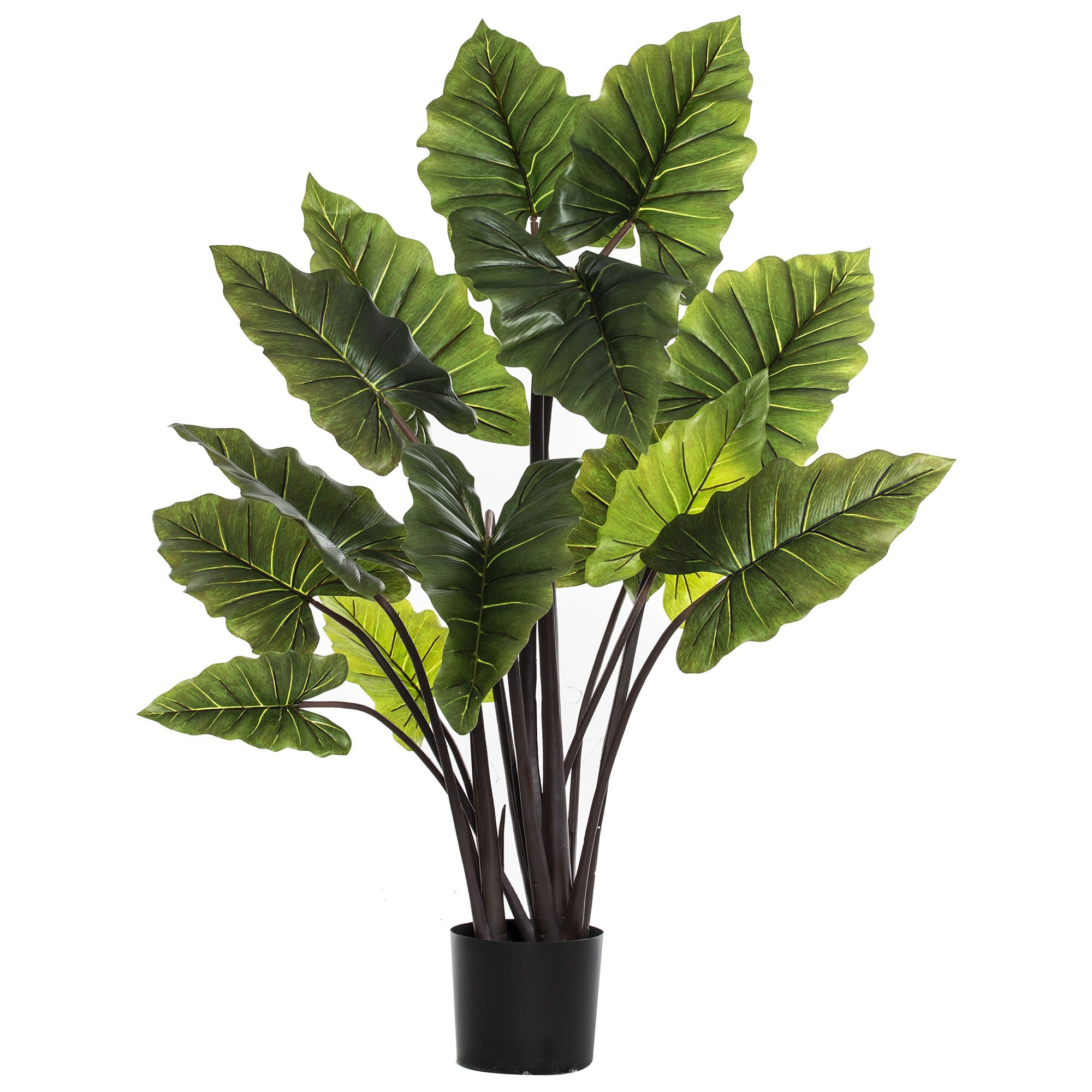 Potted Artificial Alocasia Plant, 140cm