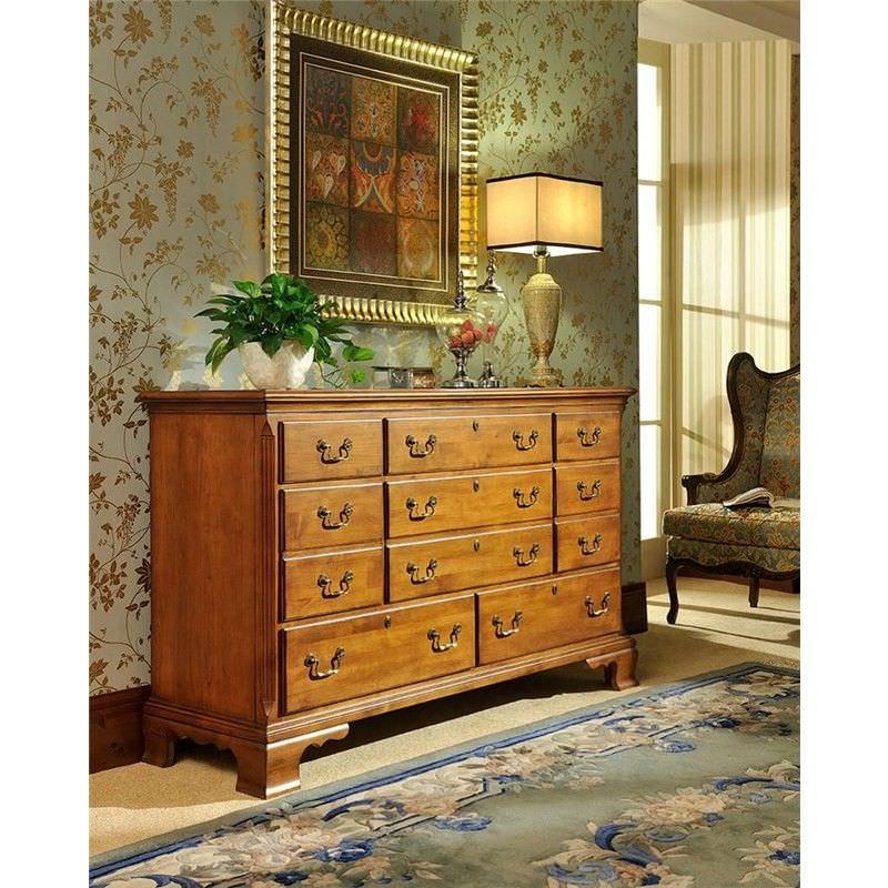 Goethe Alder 11 Drawer Dresser