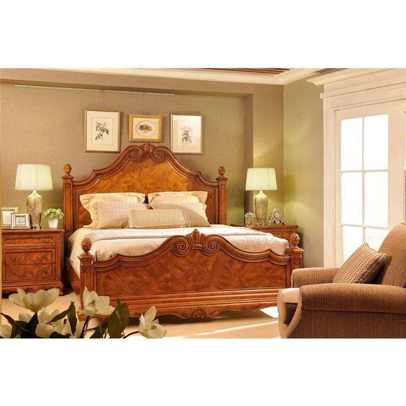 Olivia Alder Panel Bed - King Size