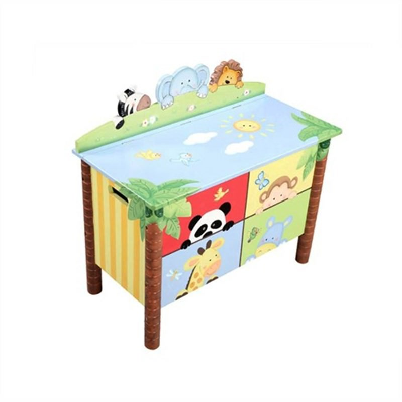 Teamson Sunning Safari Toy Box