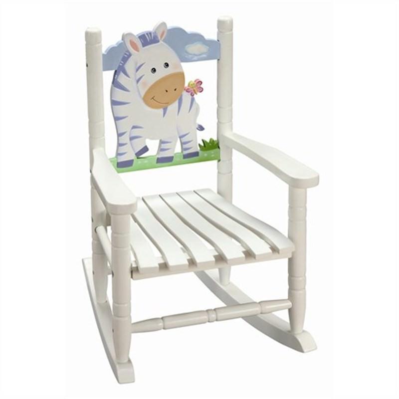 Teamson Safari Zebra Rocking Chair
