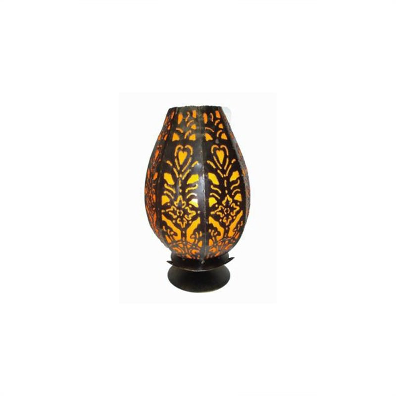 Table Lamp Tulip 35cm Orange