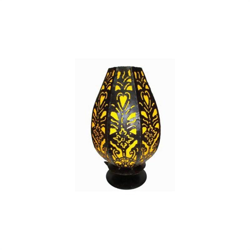 Table Lamp Tulip 35cm Yellow