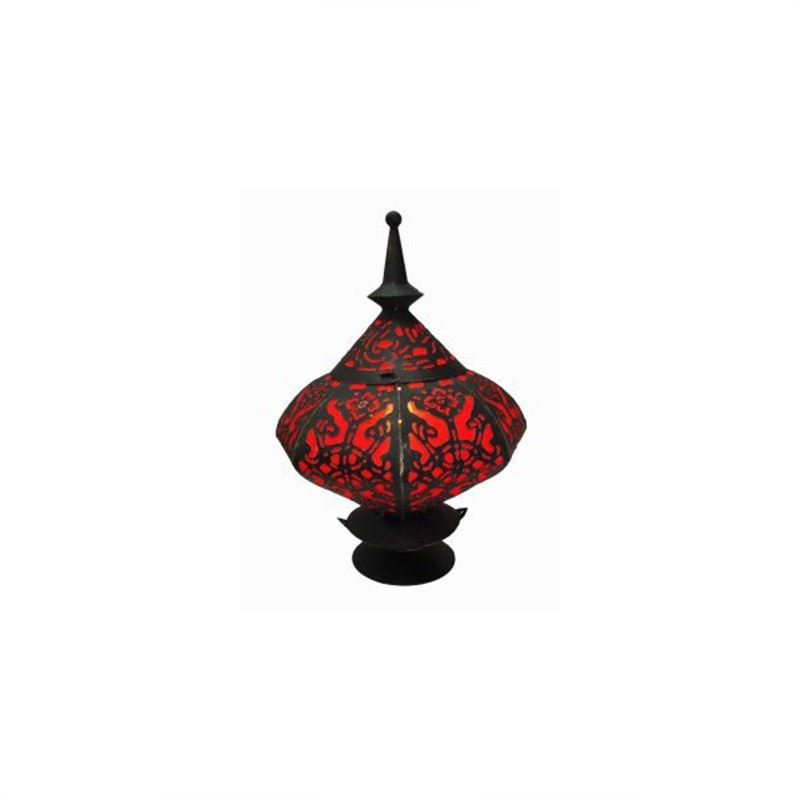 Table Lamp Elip 45cm Red