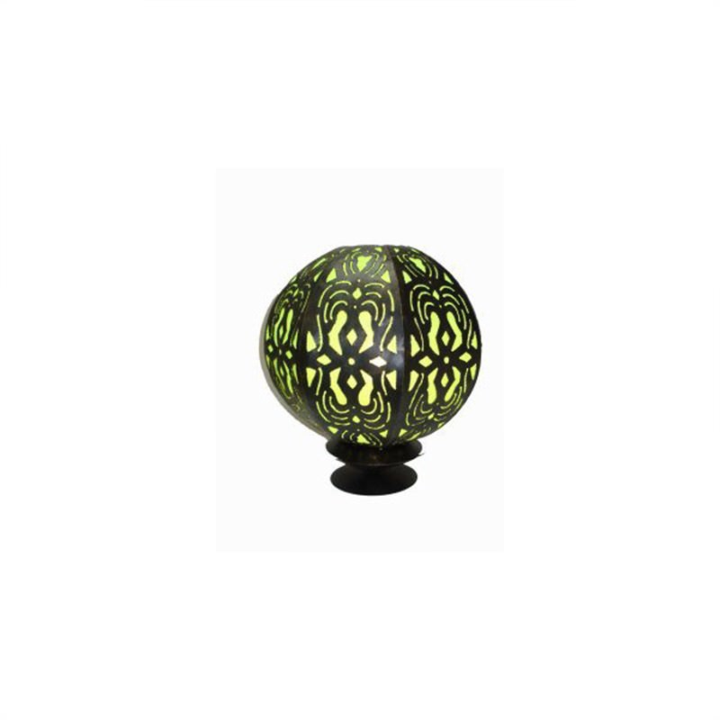 Table Lamp Ball 45cm Green