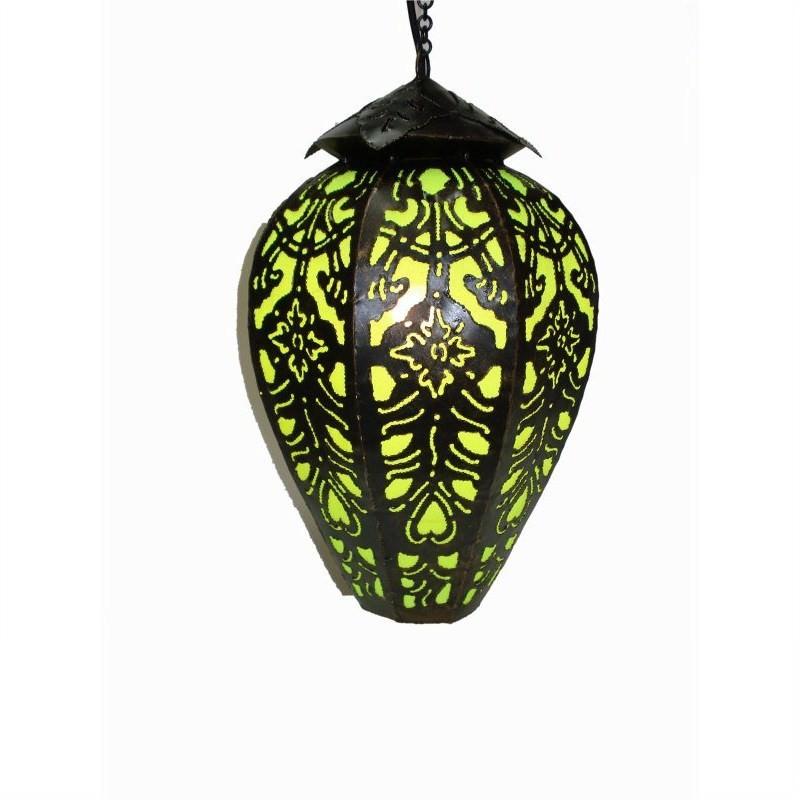 Hanging Lamp Tulip 40cm Green