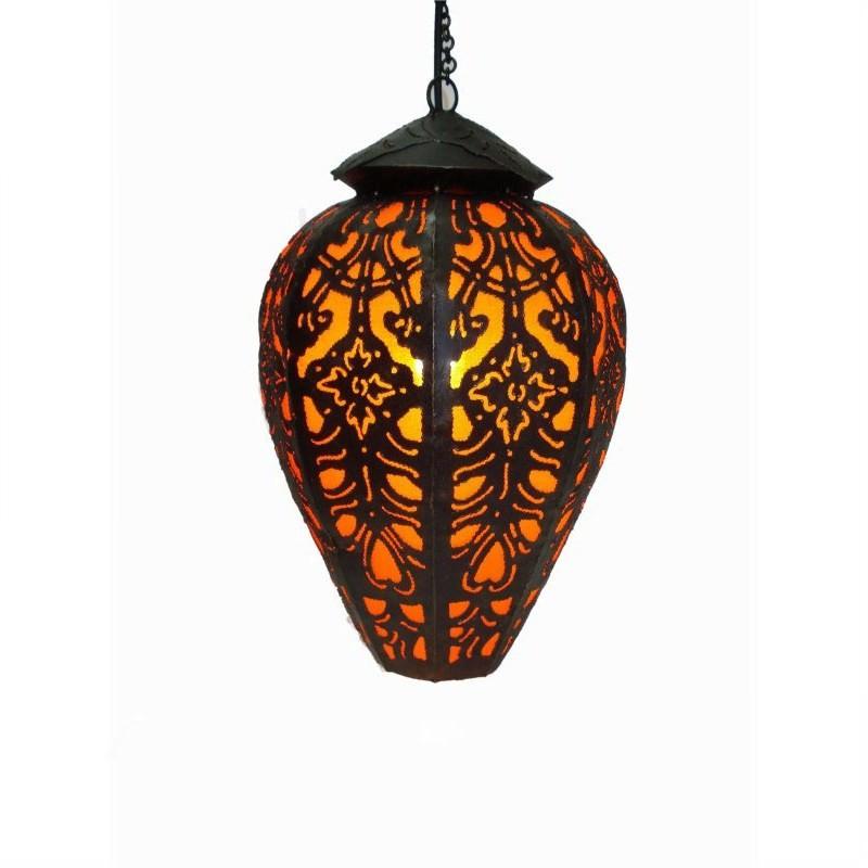 Hanging Lamp Tulip 40cm Orange