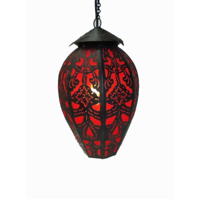 Hanging Lamp Tulip 40cm Red