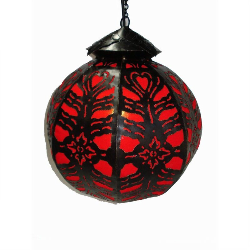 Hanging Lamp Ball XL 70cm Red