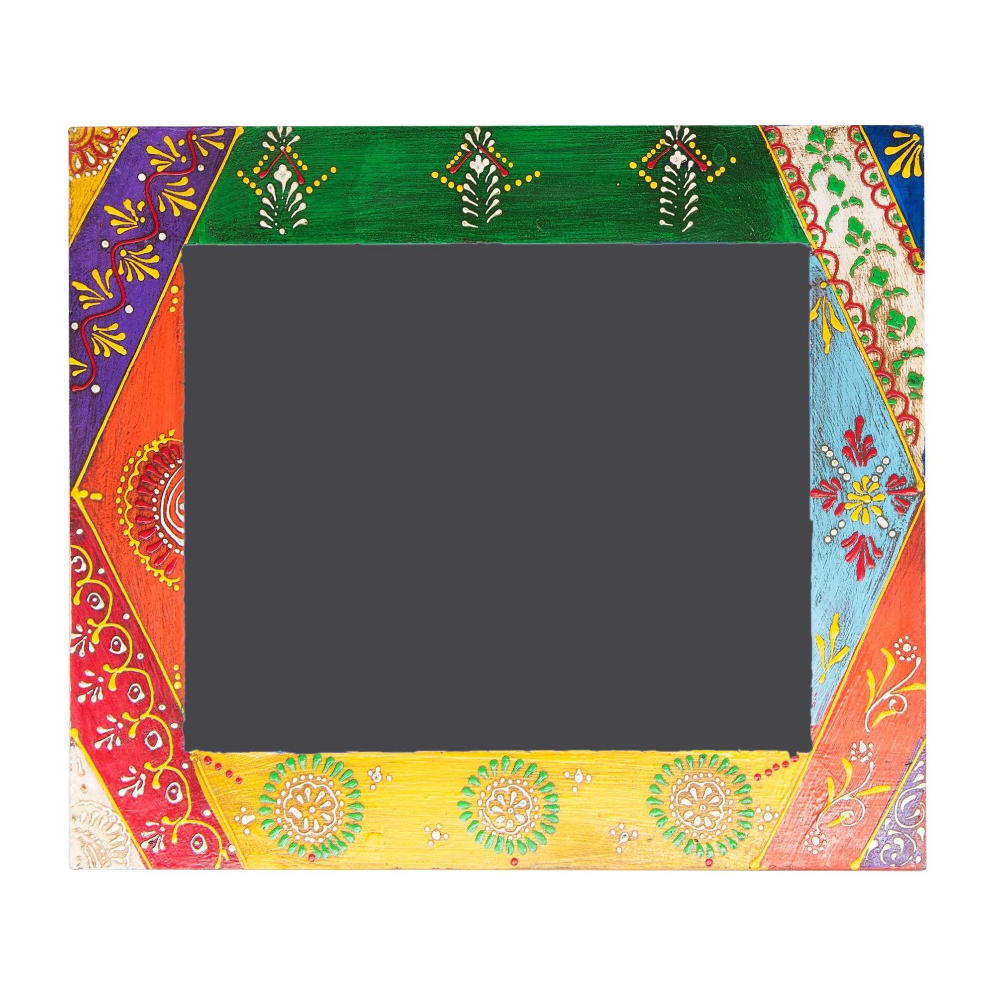 Binaki Hand Painted Timber Photo Frame