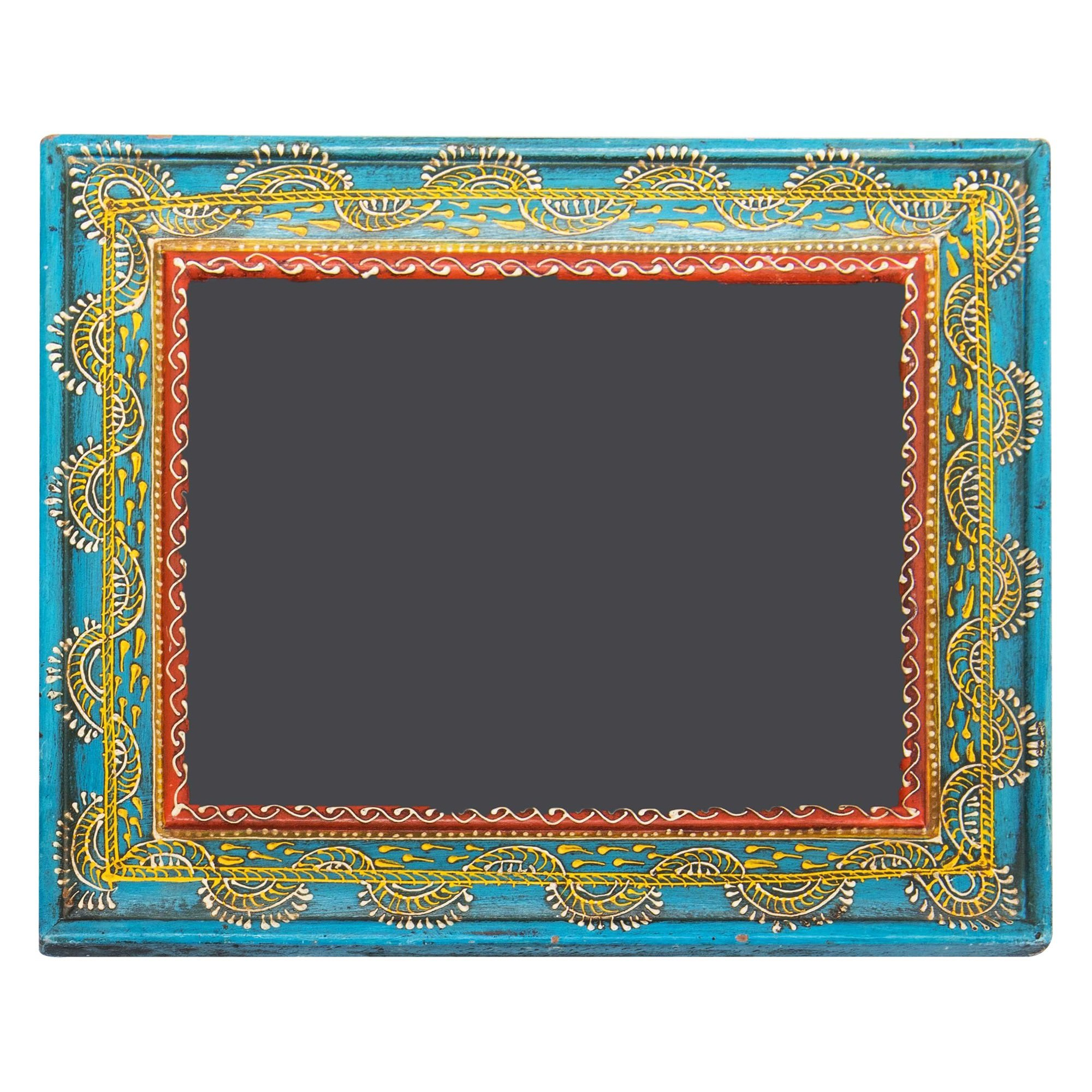 Mitra Hand Painted Timber Photo Frame