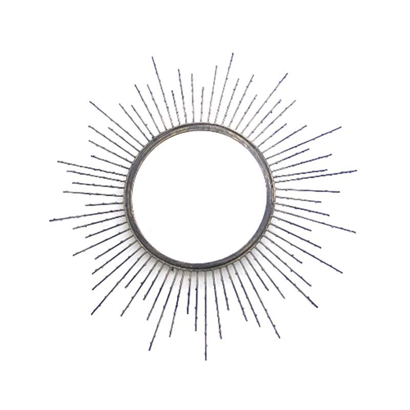 Kenzel Metal Frame Round Mirror Frame, 50cm