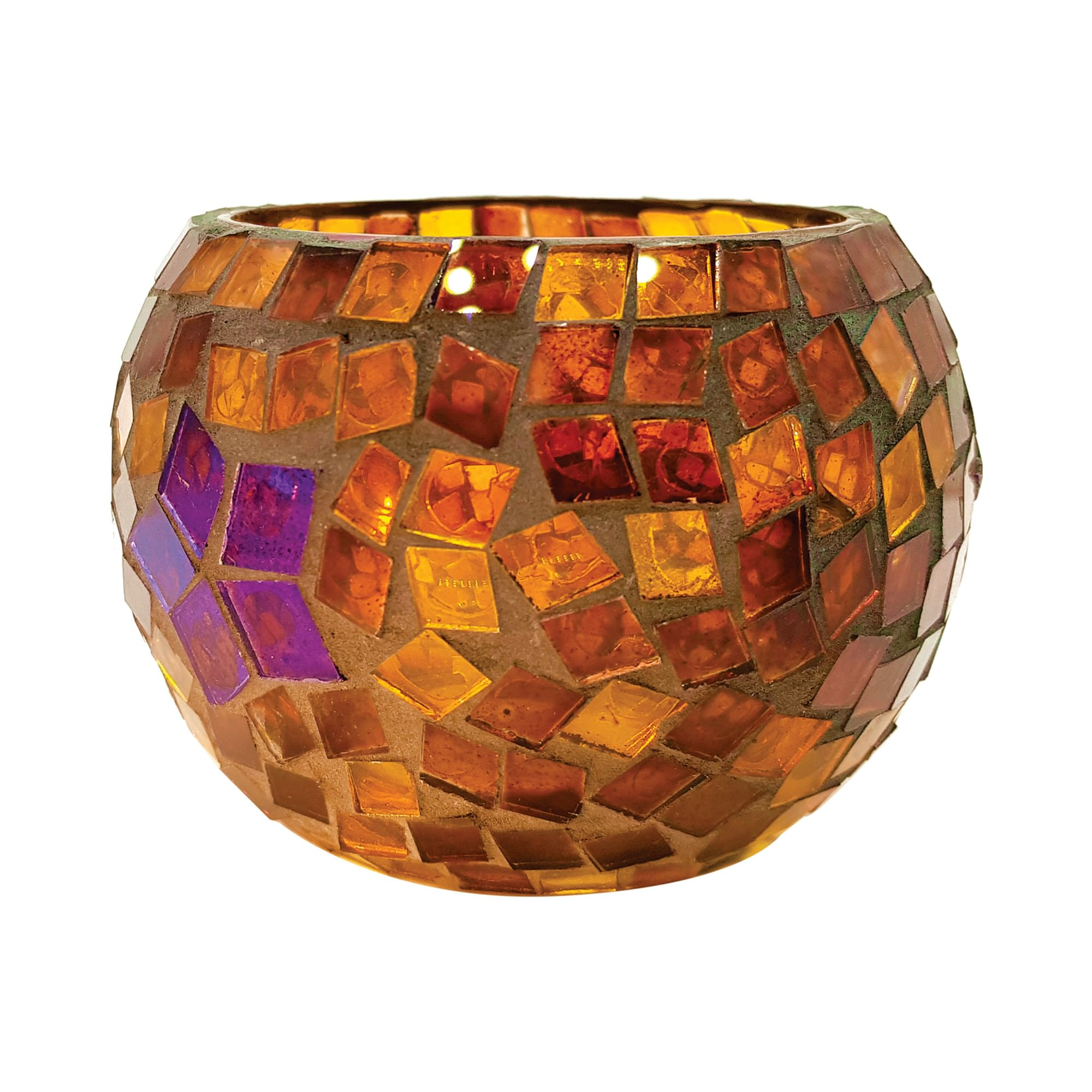 Suzi Glass Mosaic Votive