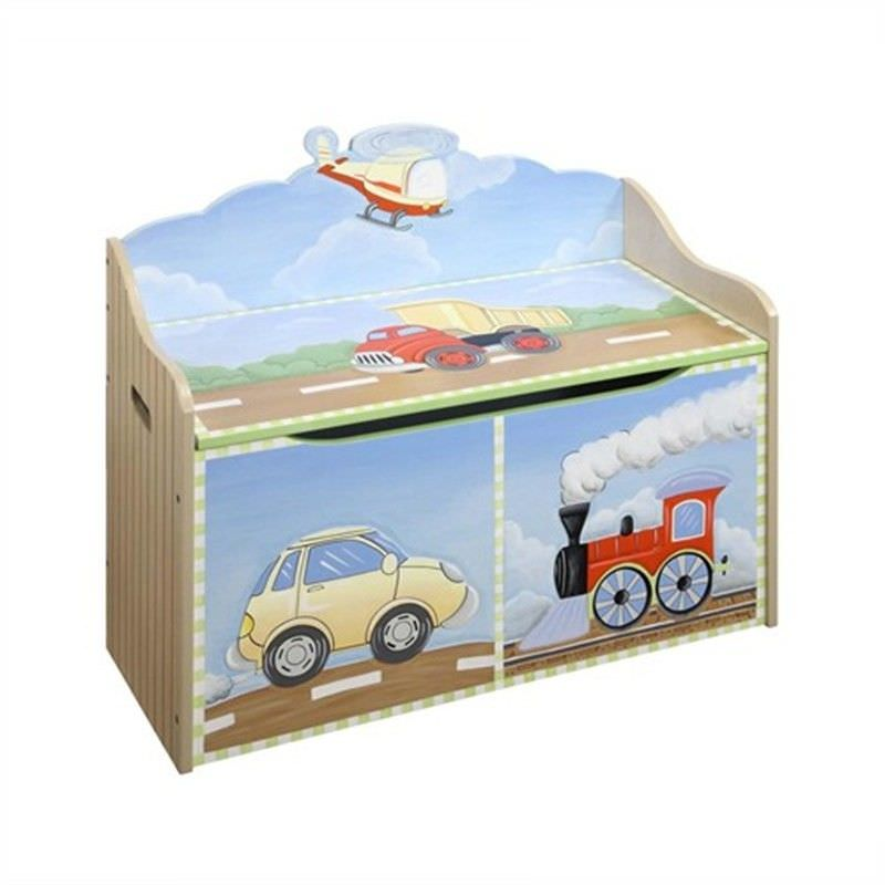 Teamson Transport Toy Chest
