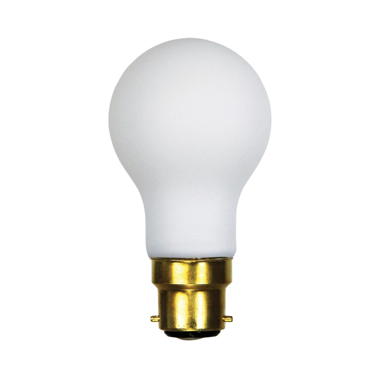 Allume A60 Dimmable LED Filament Globe, B22, 2700K, Opal