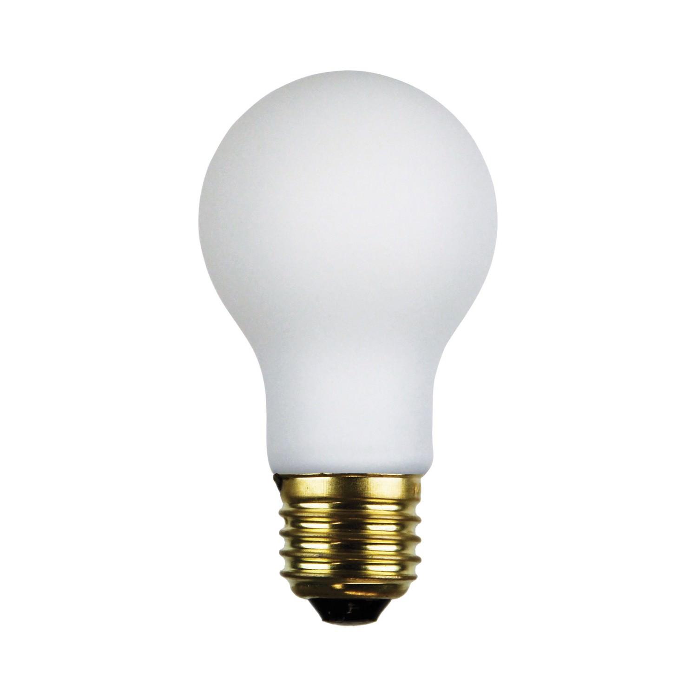 Allume A60 Dimmable LED Filament Globe, E27, 2700K, Opal