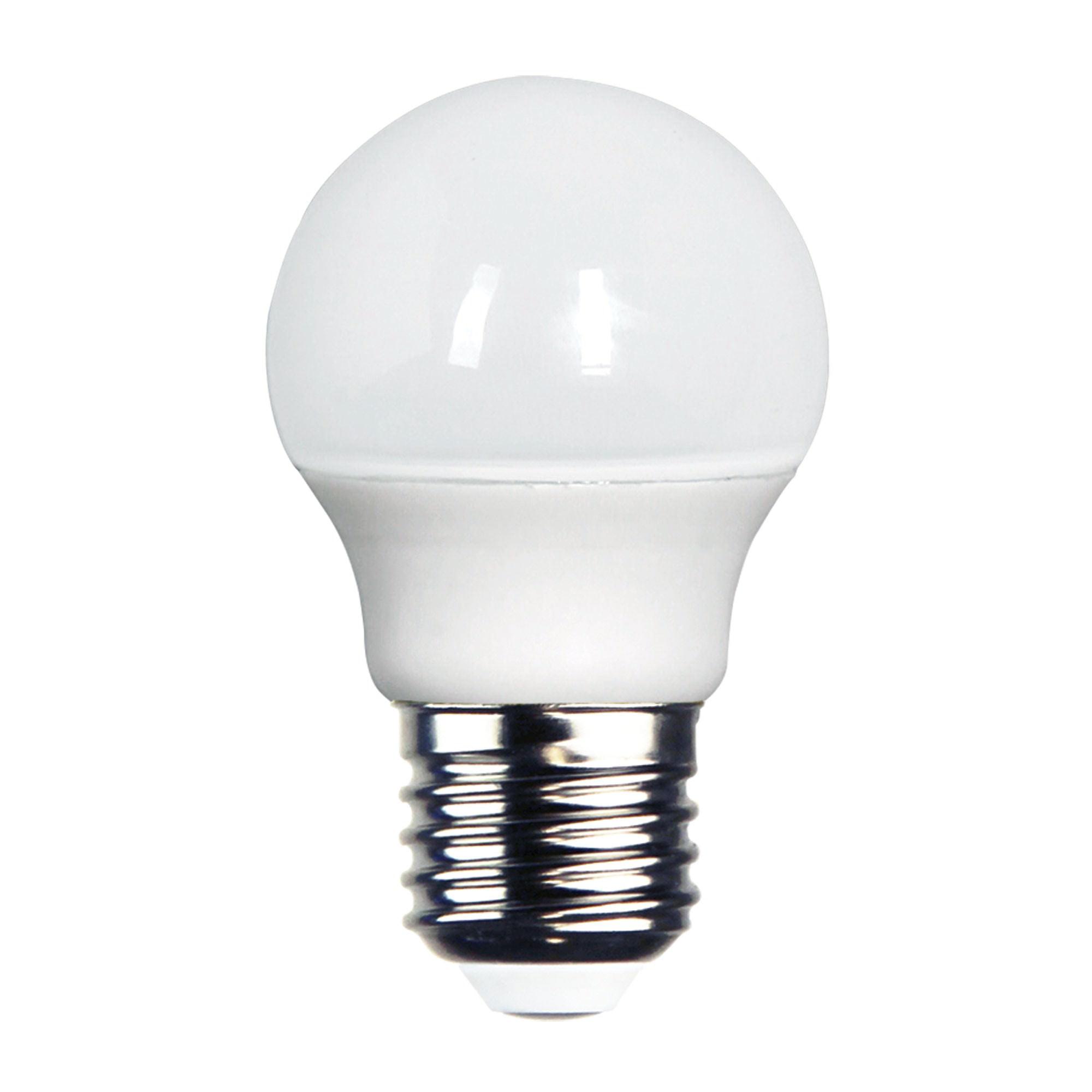 Allume LED Globe, E27, 3000K, Fancy Round Shape