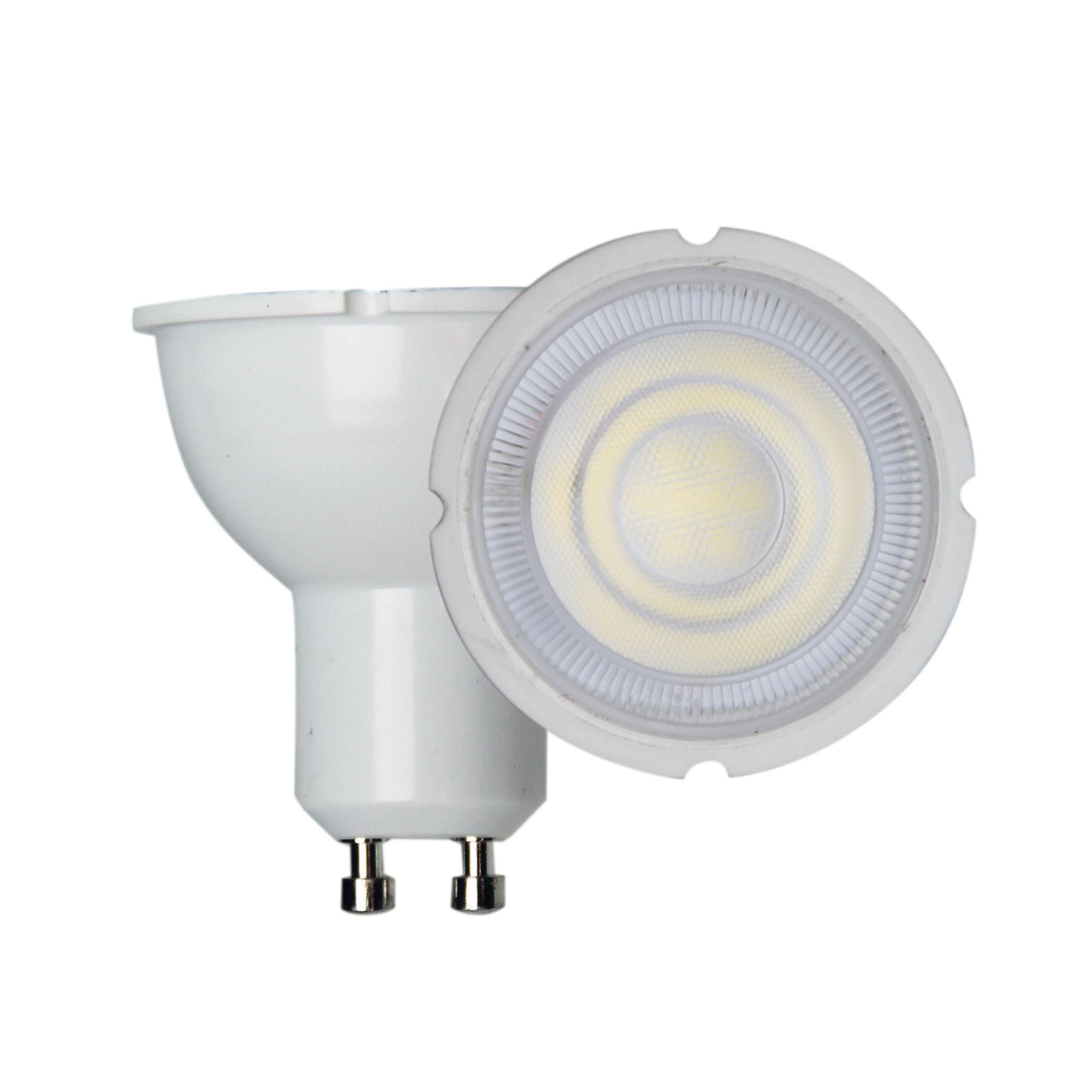 Allume Dimmable LED Globe, 7W, GU10, 3000K, White