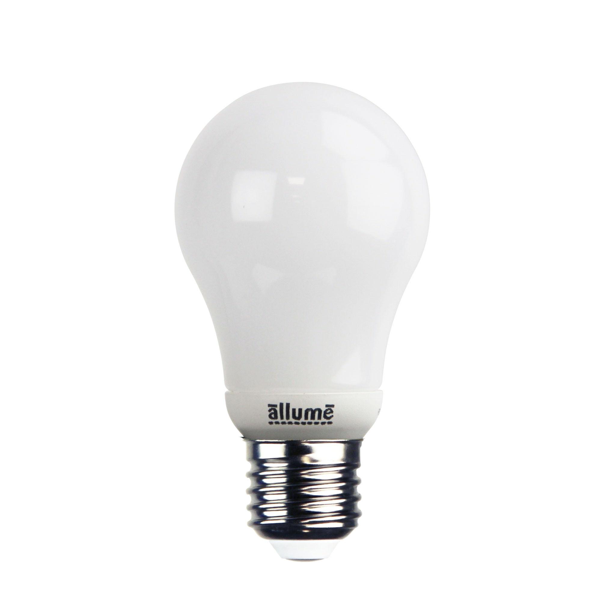 Allume GLS LED Globe, 8W, E27, 3000K, Opal