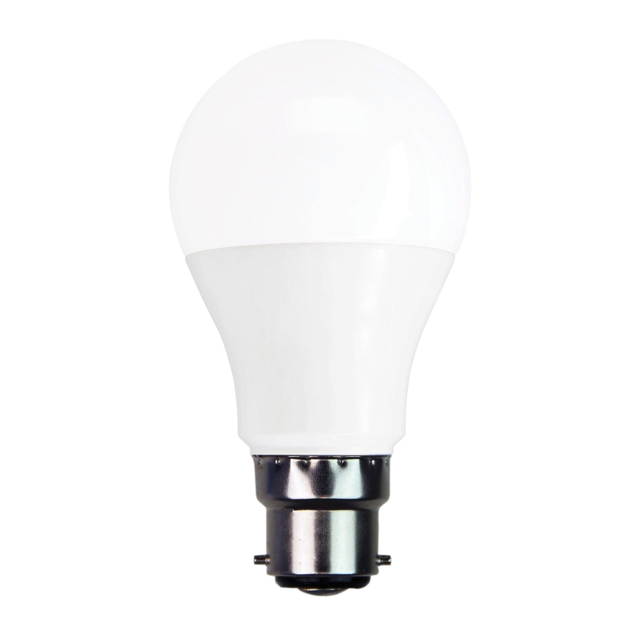 Allume LED Globe, 7W, B22, 3000K, GLS Shape