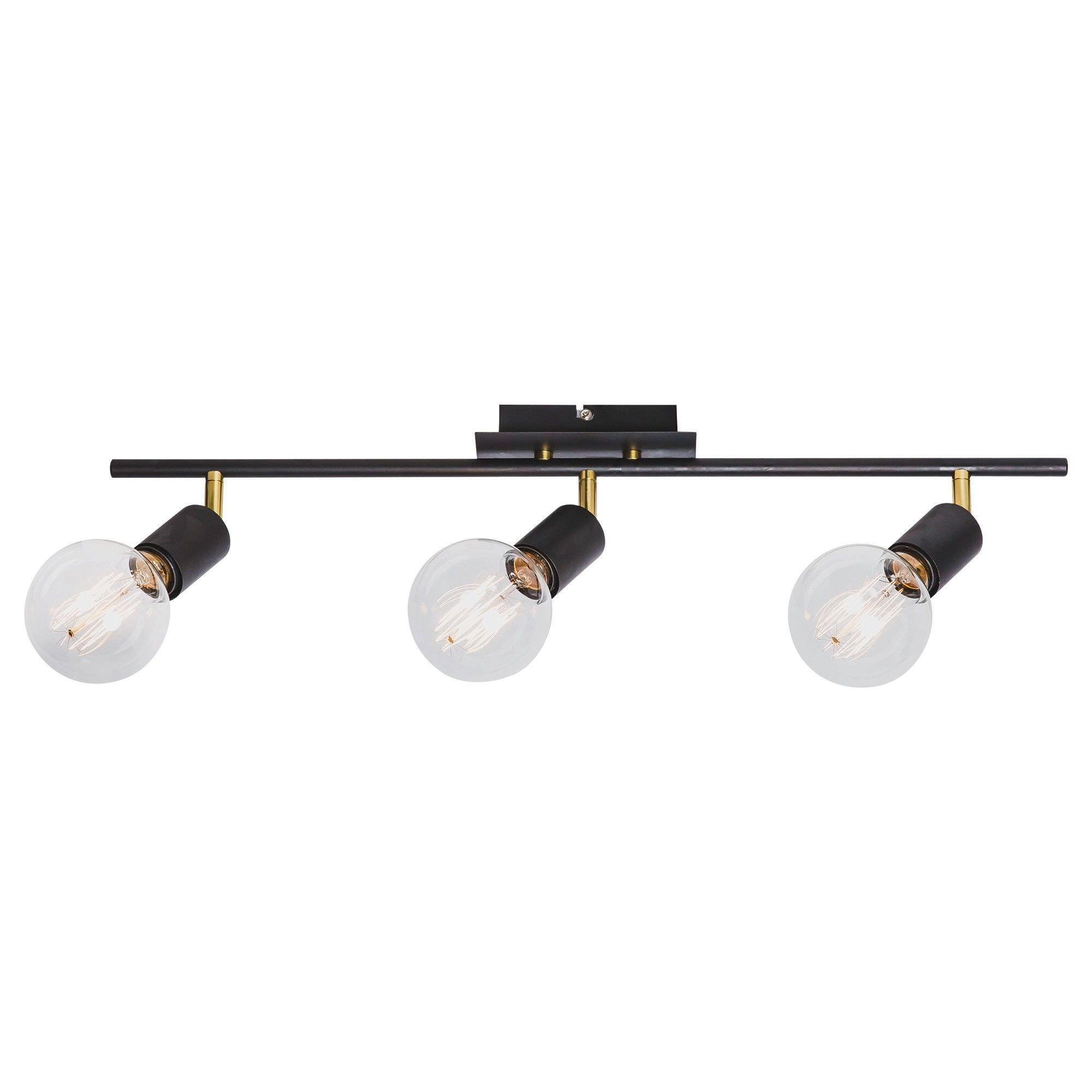 Tiffany Spotlight, 3 Light, Black