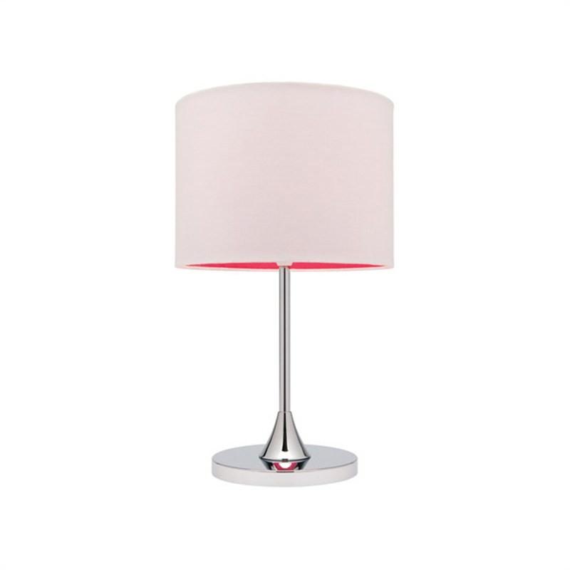 Bloom Table Lamp In Pink - Mercator