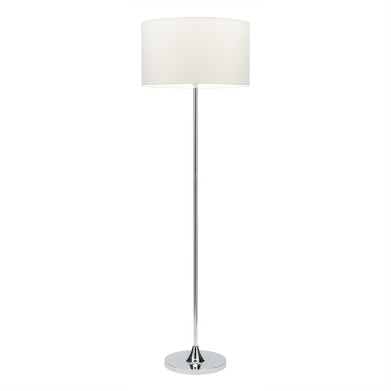 Bloom Floor Lamp In White - Mercator