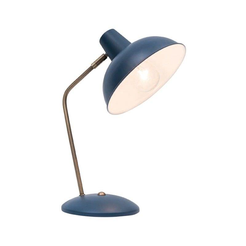 Lucy Metal Desk Lamp, Navy