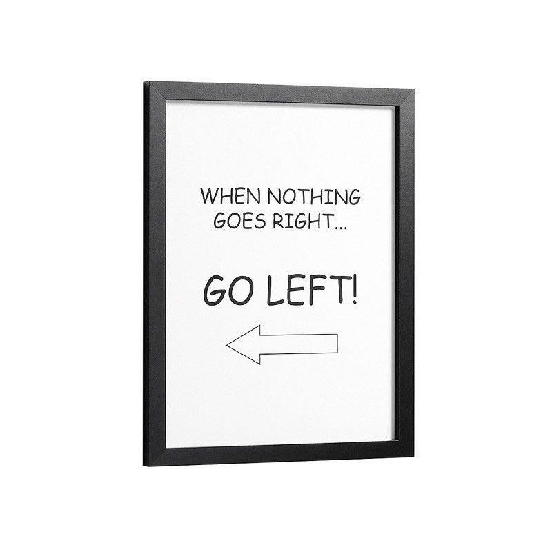 Corri Framed Print Wall Art - White
