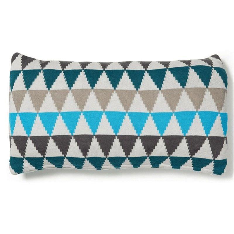 Trinity Cotton Knitted Rectangular Cushion