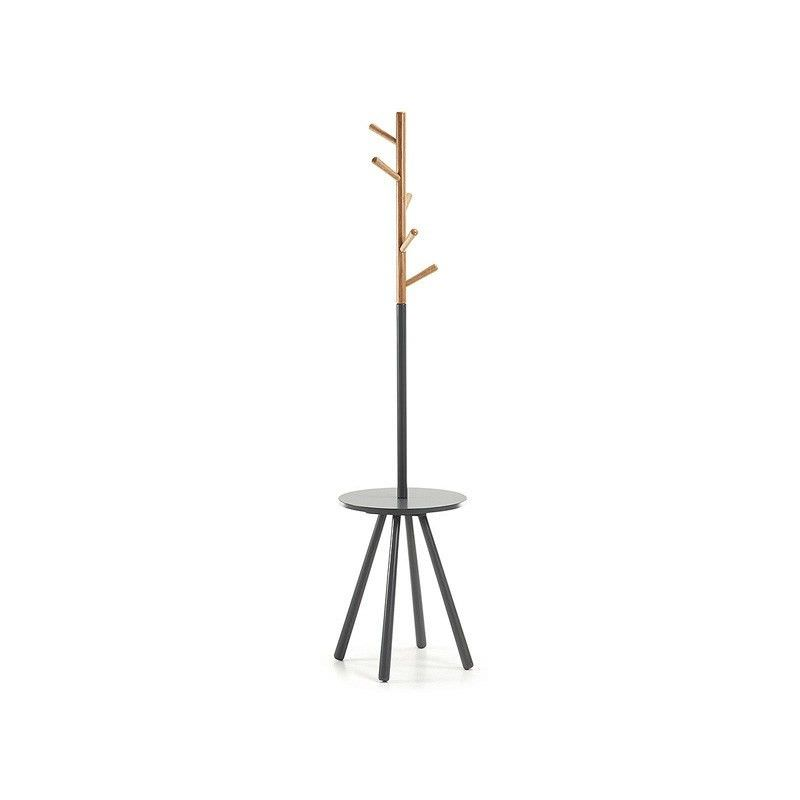 Barnet Wooden Coat Hanger - Black
