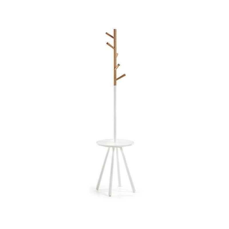 Barnet Wooden Coat Hanger - White