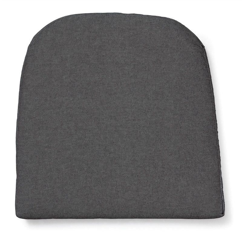 Cadiz Indoor/Outdoor Fabric Seat Pad - Grey