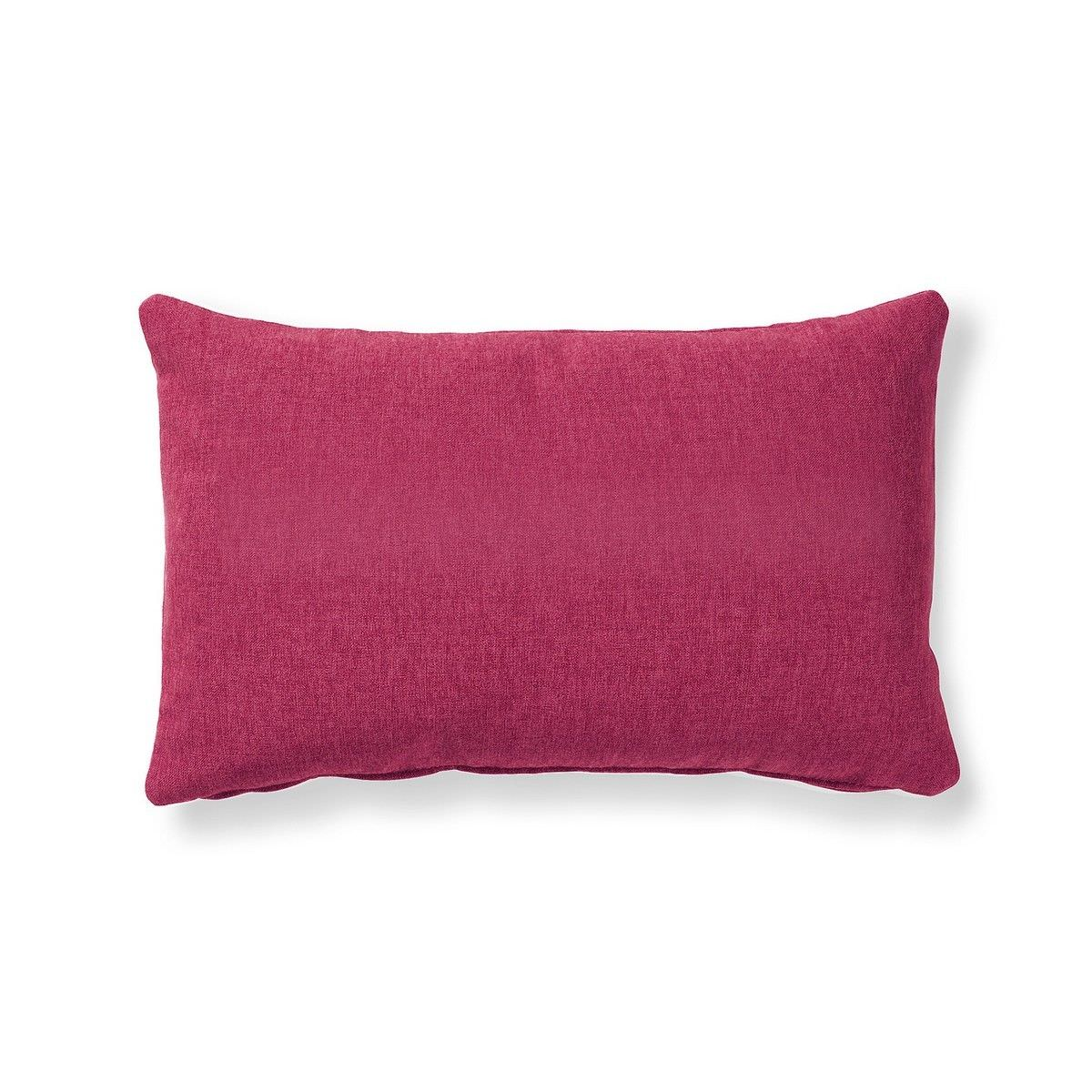 Franco Fabric Lumbar Cushion, Ruby