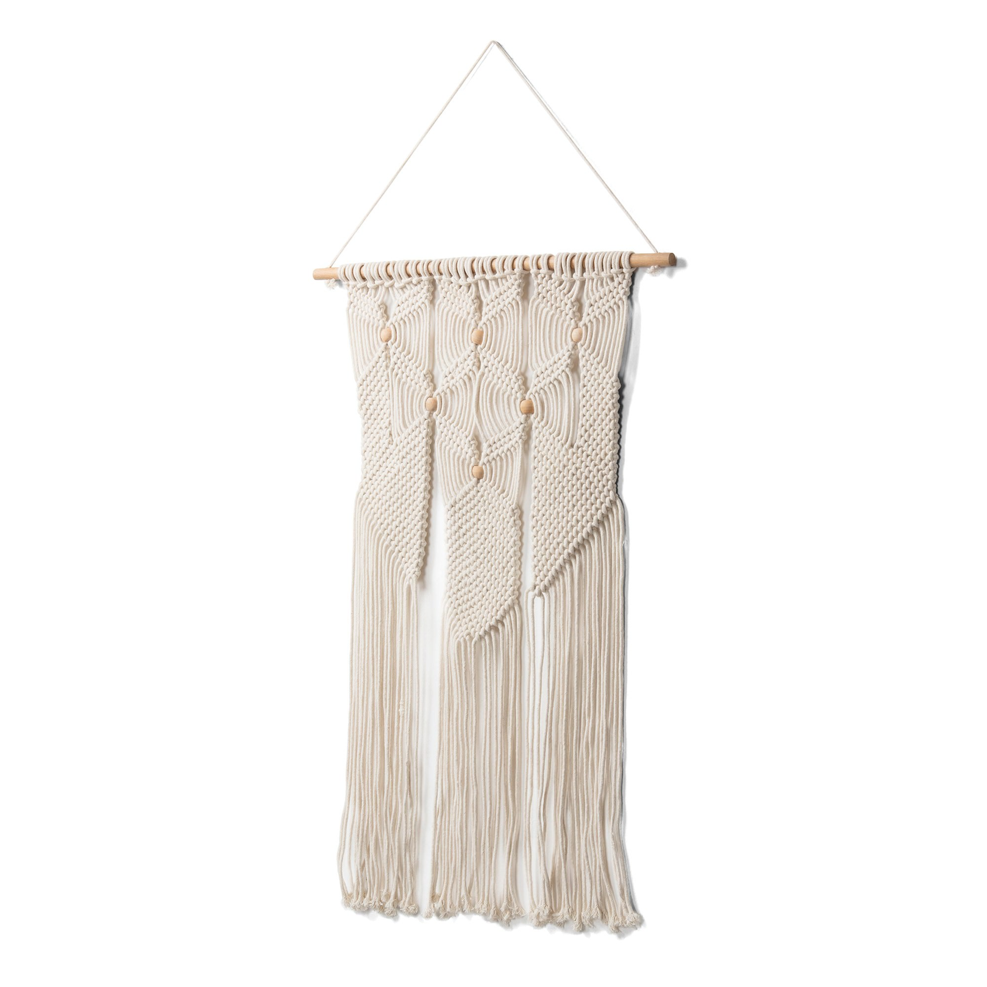 Eilena Hand Knited Cotton Macrame Wall Tapestry