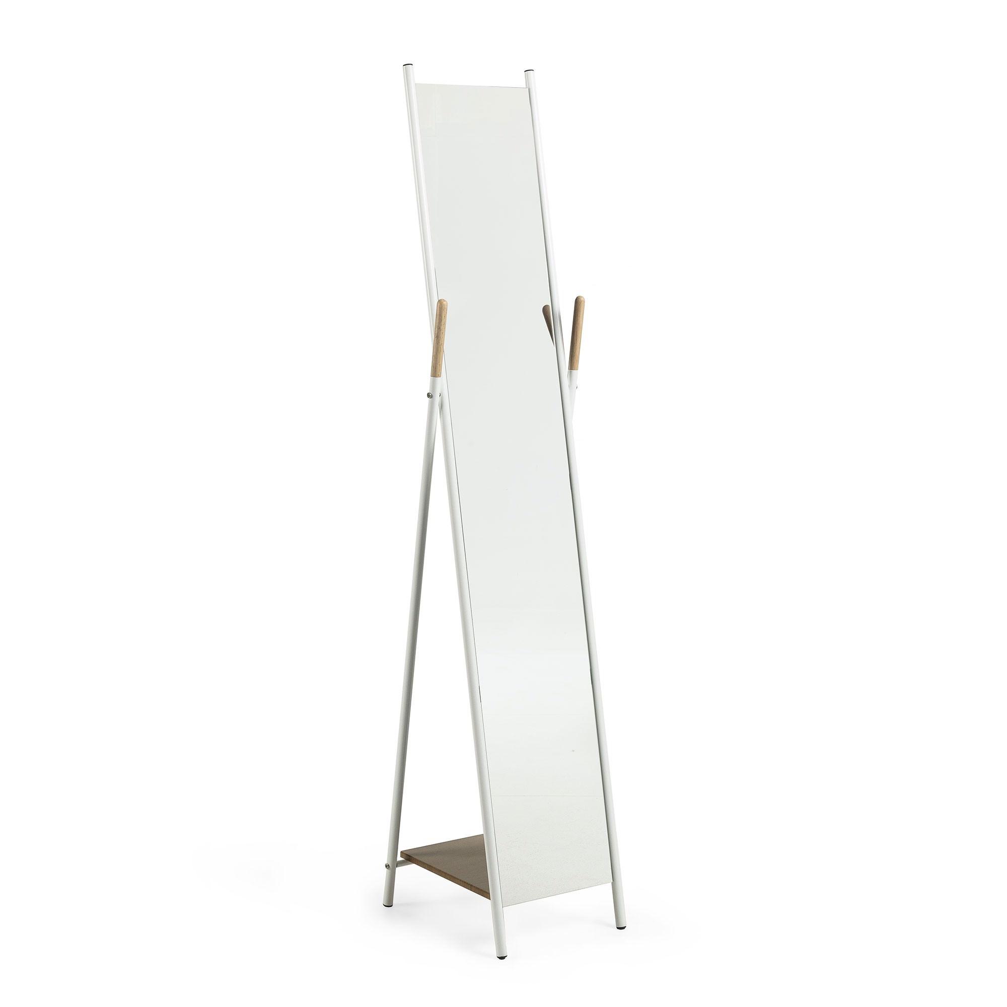 Harvir Metal Frame Cheval Floor Mirror, 159Cm