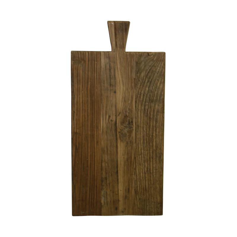 Holman Recycled Elm Timber Breadboard, Rectangular, Small