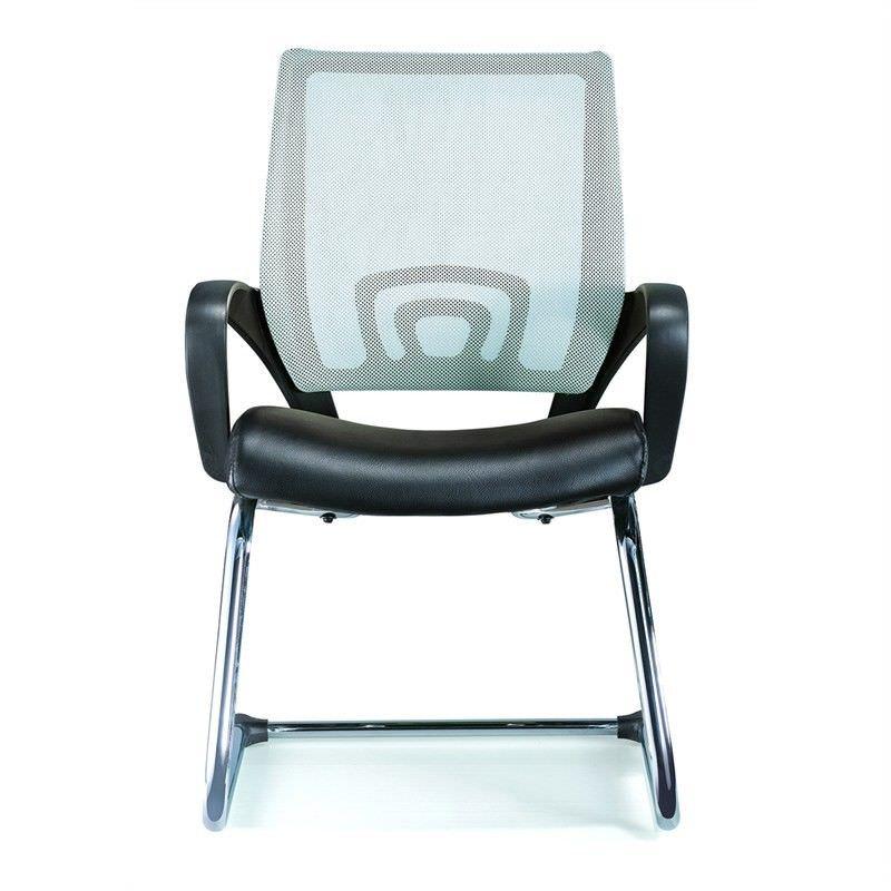 View Visitors Mesh Chair - Grey