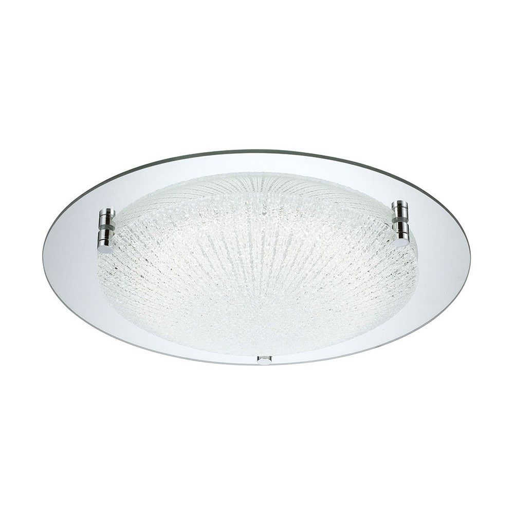 Acento LED Oyster Ceiling Light