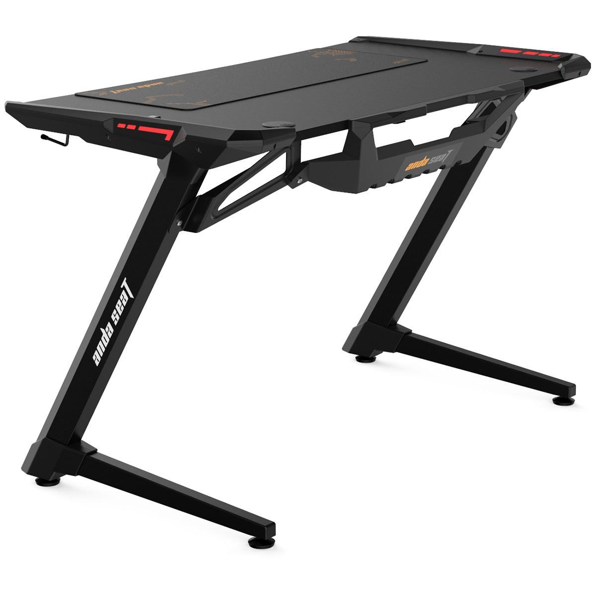 Anda Seat 1200-04 RGB Gaming Desk, 120cm, Black