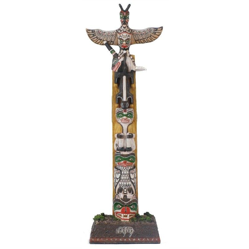 Totem Pole Figurine
