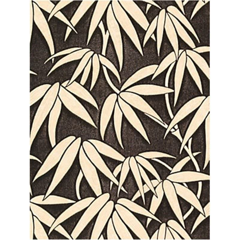 Bamboo Leaf - Hand Painted - 50x90cm