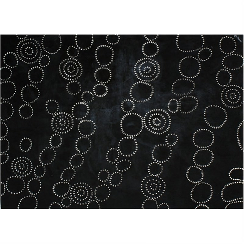 Chainmail-Black - Hand Painted with Artist Signature - 150x120cm