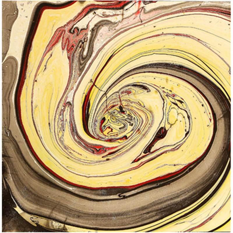 Liquid Gold - Hand painted - 120x120cm